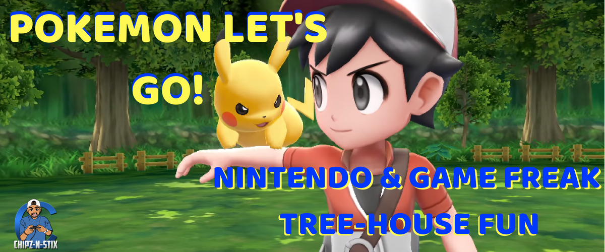 Pokemon Let's Go! Pikachu & Let's Go! Eevee Tree-house Demo From Nintendo