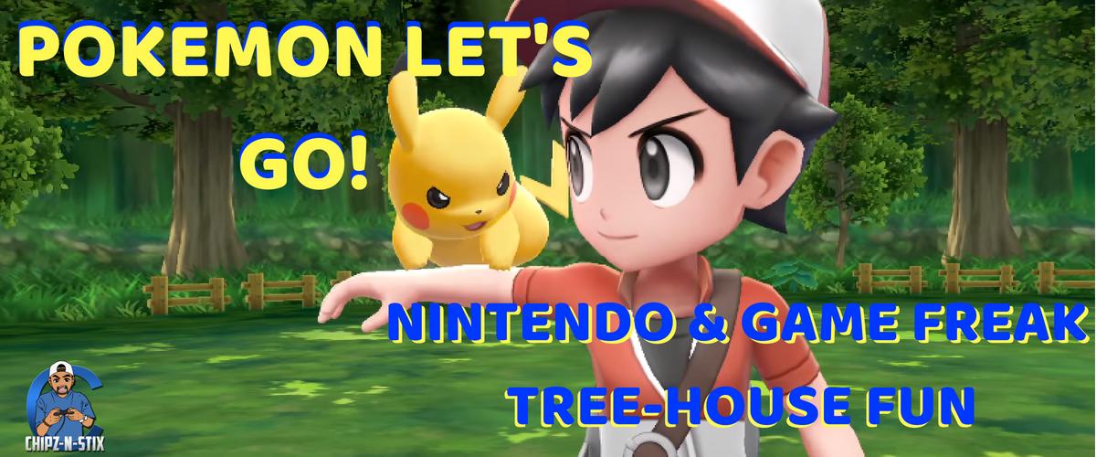 Pokemon Let's Go! Pikachu & Let's Go! Eevee Tree-house Demo From Nintendo